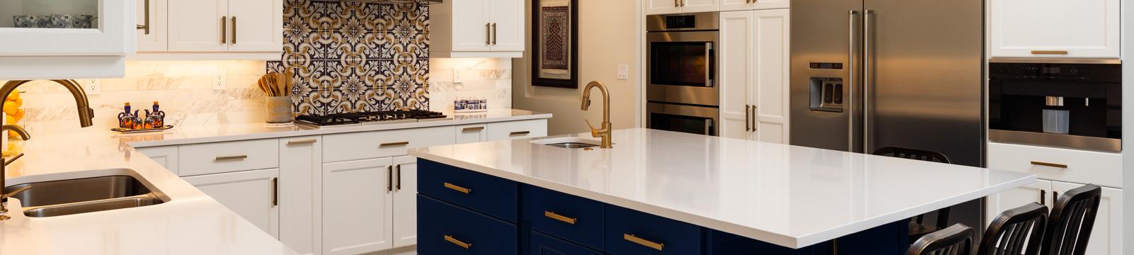 refaced modern kitchen